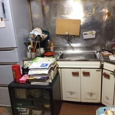 神奈川県横須賀市 キッチンリフォームの施工前写真(0枚目)