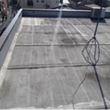 横浜市神奈川区 マンション屋上の防水の施工前写真(0枚目)