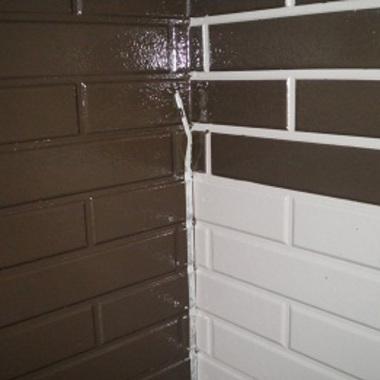 外壁塗装前 アップ画像