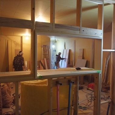 カラオケハウス店舗プロデュース 工事中