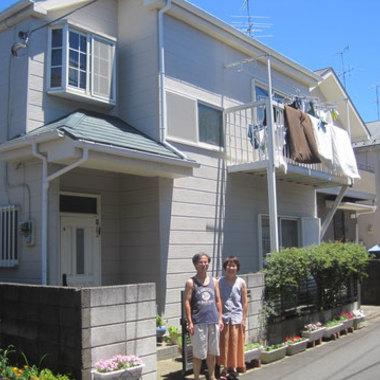 屋根塗装 外壁塗装 コーキング補修前