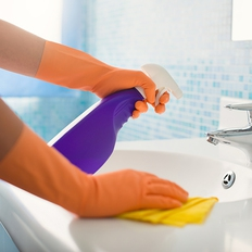 商品画像: 洗面所クリーニング