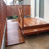 塗装 | ウッドデッキ取付・修理の木材別 金額・費用相場とポイント