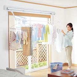 室内用物干し 取付 | 室内用物干しの商品ラインナップ