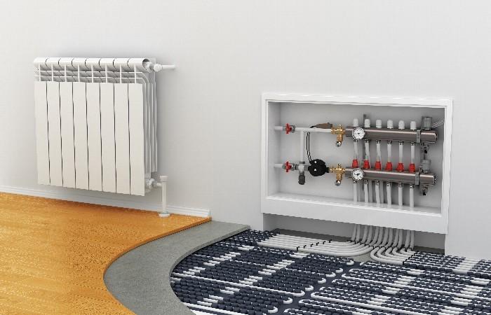 床暖房 リフォーム | オール電化で床暖房
