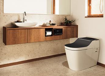 トイレ リフォーム | パナソニックのトイレ、「アラウーノ」の特徴