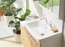 リクシルの洗面化粧台「オフト」の特徴