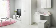 リクシル(LIXIL)の毎日の生活が快適になる洗面化粧台「エスタ」の特徴