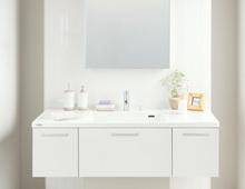 暮らしに寄り添うトクラスの洗面化粧台の特徴