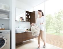 永大産業の快適な暮らしをサポートする洗面化粧台の特徴