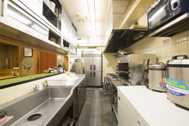 飲食店の厨房